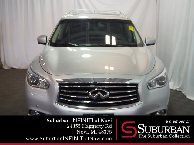 Pre-Owned 2015 INFINITI QX60 PREMIUM PLUS/CARGO