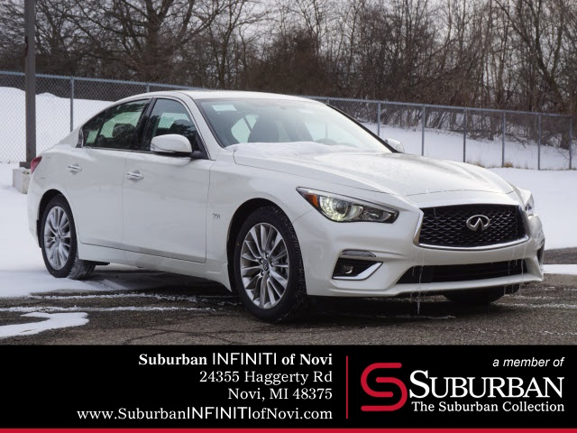 New 2019 INFINITI Q50 3.0t LUXE With Navigation & AWD