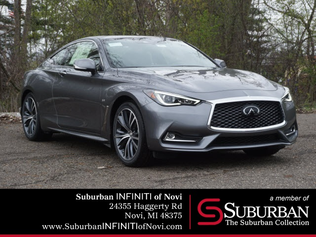 New 2019 INFINITI Q60 3.0t LUXE AWD With Navigation & AWD