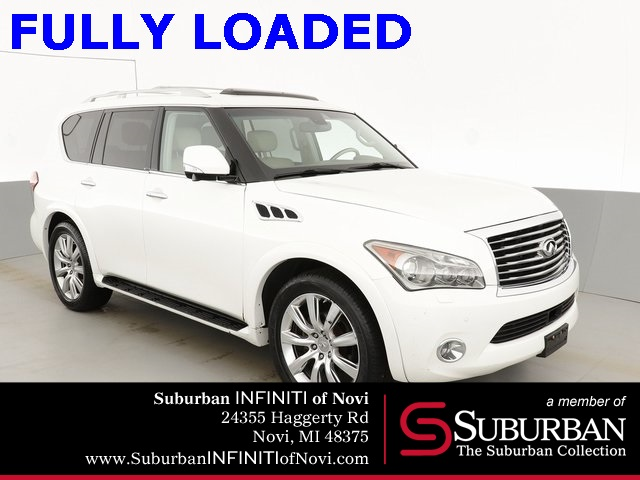 Pre-Owned 2011 INFINITI QX56 Driver Assistance/Technology/