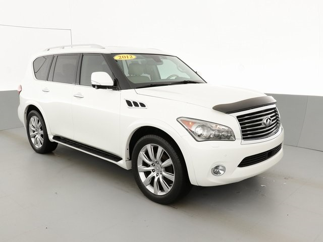 Pre-Owned 2012 INFINITI QX56 Deluxe Technology/Touring/