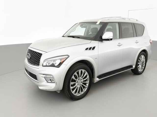 Pre-Owned 2017 INFINITI QX80 Driver Assistance/Theatre/22