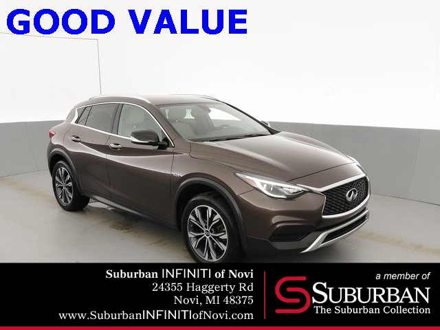 Certified Pre-Owned 2018 INFINITI QX30 Luxury