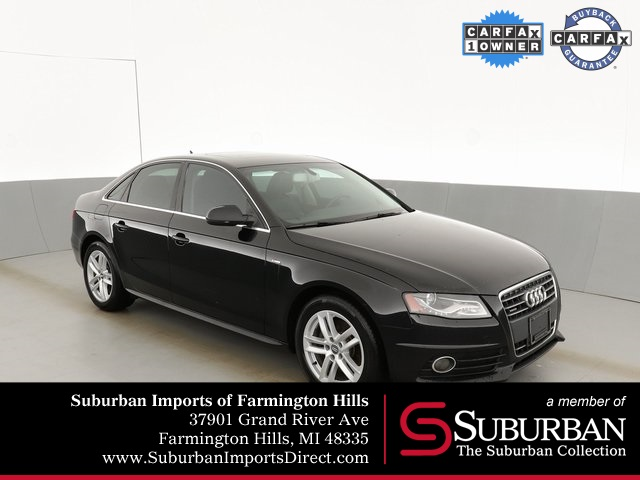 Pre-Owned 2012 Audi A4