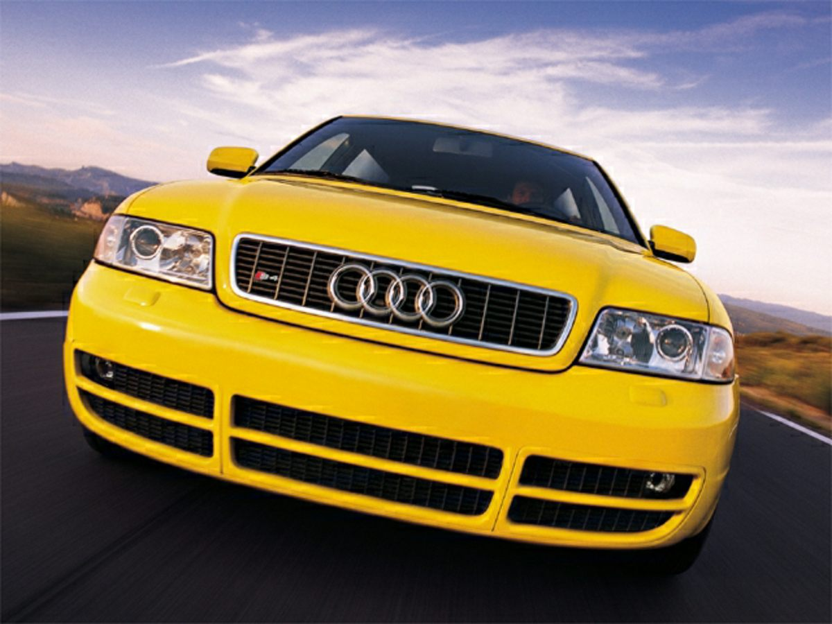Pre-Owned 2002 Audi S4 2.7T