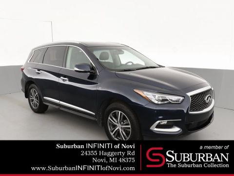 Pre-Owned 2016 INFINITI QX60 Premium Plus and Driver Assistance Pkg's.
