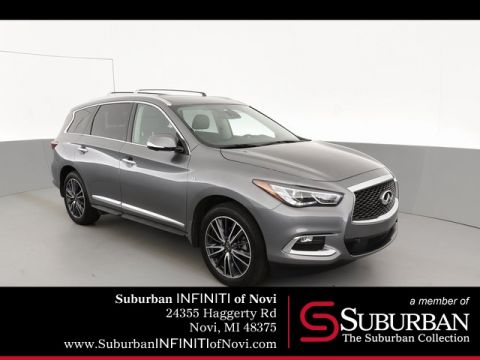 Certified Pre-Owned 2019 INFINITI QX60 LUXE/Sensory/Proactive/