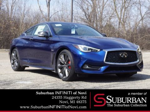 New 2019 INFINITI Q60 3.0t RED SPORT AWD