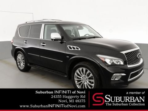Pre-Owned 2016 INFINITI QX80 Driver Assistance/Deluxe Technology/