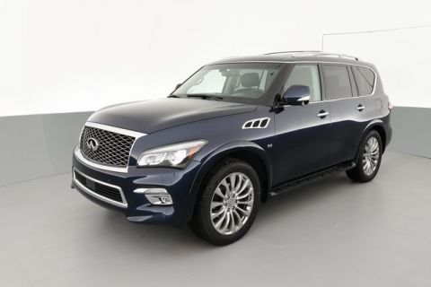 "Certified Pre-Owned 2016 INFINITI QX80 22"" WHEELS/THEATRE/DRIVER ASSIST"
