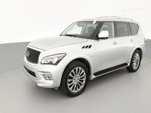 "Pre-Owned 2017 INFINITI QX80 Driver Assistance/Theatre/22"" wheels"