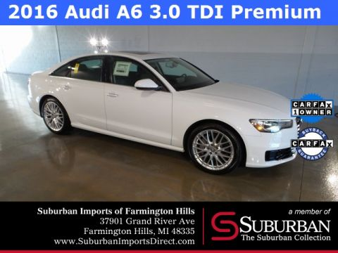 Pre-Owned 2016 Audi A6 3.0 TDI Premium Plus